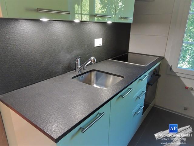 Granitarbeitsplatte, Küche, Fors Haushaltgeräte, Franke